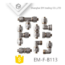 EM-F-B113 Volle Arten Nickel pex Rohrfitting