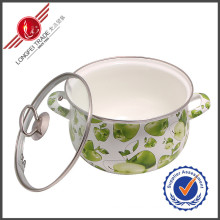 Durable Enamel Cookware Sauce Pan