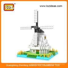 Moinho de vento diamante blocos de construção de brinquedos educativos (Item No.9363)