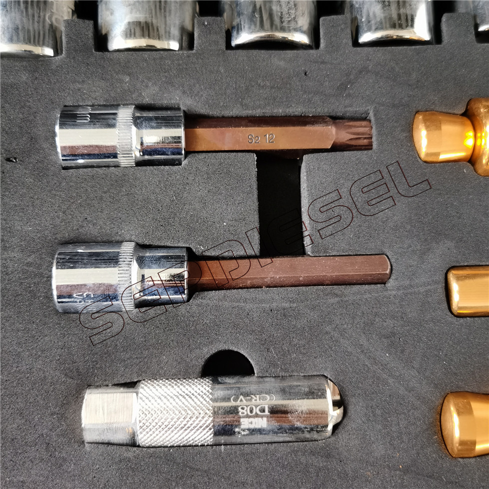 Sdt14 Common Rail Injector Repair Tool Box Of 20pcs 7