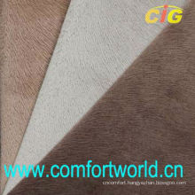 100% Polyester Embossed Faux Suede Fabric For Sofa