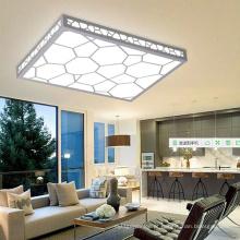 Lâmpada de madeira do teto do diodo emissor de luz do cubo da água do PVC da qualidade / luz de teto