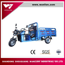 650W Farm Electric Cargo Box Tricycle