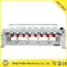 machine à broder informatisée avec fil épais et plat 8 tête plate & paillettes broderie machine 8 paillettes tête e