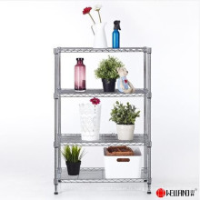 Hot Sale Adujustable DIY Chrome Metal Wire Flower Display Stand