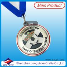 Металлические памятные медали в честь спортивных Олимпийские Медали металла медальон для продажи