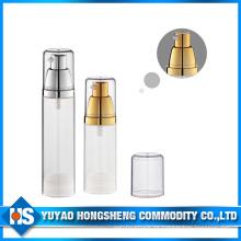 Material Hs-016 PP con bomba de loción Botella de bomba sin aire