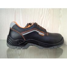 Lässige Sport Style Split geprägtes Leder Sicherheitsschuhe (HQ2002)