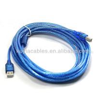 USB 2.0 A para Mini B Cabo para impressora Scanner para Canon Epson para hp para Lexmark para Dell ou outros