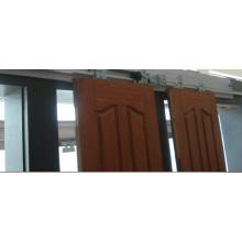 Guía de piso Bandeja de freno Puerta semi automática