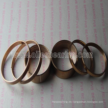 Anillo de bronce, juego de sellos de bronce para el cilindro del émbolo Q160-80, anillo de bronce envuelto con ranuras