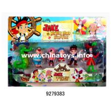 Presente relativo à promoção barato plástico macio brinquedo animal boneca priate (9279383)