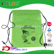 sublimation printing design rpet wholesale draw string sports bags