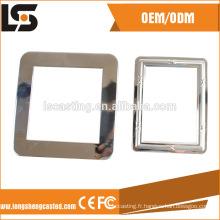 Les pièces embouties d'acier inoxydable de cadre de photo futé 555 ont embouti les produits en acier inoxydable