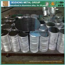 Círculo de aluminio 6060 para utensilios de cocina Proveedor de China