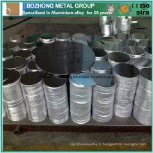 7020 Cercle en aluminium de bonne qualité pour ustensiles de cuisine