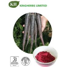 Extrait de radis noir, 10: 1, 25% d'anthocyanine, 25% d'anthocyanidines