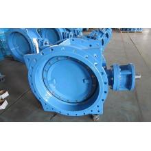 Двойной эксцентриковый клапан с двойным фланцем, серия 13/14, голый стержень с верхним фланцем ISO5211 для привода