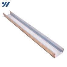 Bandeja de cabo de metal inoxidável dobra frio, tamanhos de bandeja de cabo perfurada