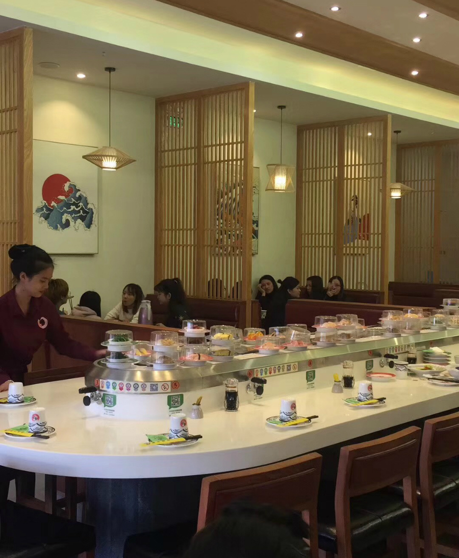 Belt Conveyor Sushi Restaurant