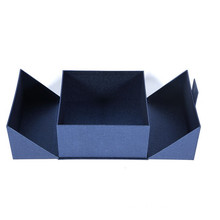 Luxury gift display box with magnetic closure