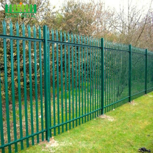 Colorful Palisade Fence For Garden Decoration