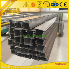 Customized Extruded Aluminium Profile Extrusion for Partition Profile