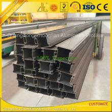 Extrusão de perfil de alumínio extrudado personalizado para perfil de separação
