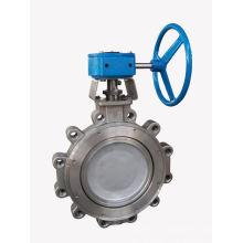 World famous din cast iron lug type butterfly valve