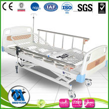 3-function medical electric bed with Wire mesh surface
