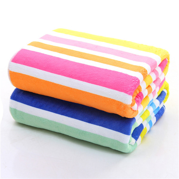 70/140cm Warp Knitted Microfiber Printed Bath Towel