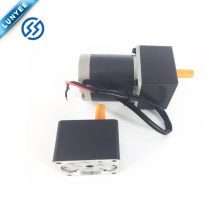 15w 12v 24v 90v high rpm brushed dc gear motor 60mm