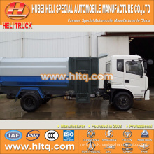 DONGFENG 4x2 10m3 side loader garbage truck 170hp hot sale for export