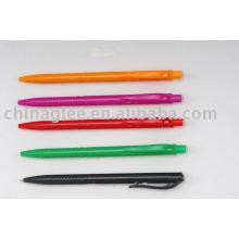caneta de plástico