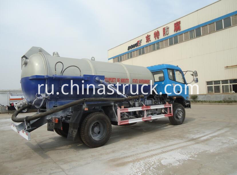 Nigerial government sewage suction truck