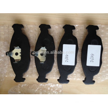 Plaquette de frein métallisée complète de qualité supérieure D688