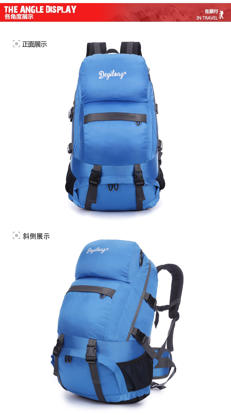 Large Capacity Outdoor Hiking Camping Travel Sports Backpack