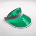 UV-Schutz transparente PVC-Sonnenblende Kappe