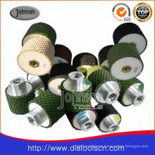 Stone Pads: 2-3inch Diamond Drum Wheel