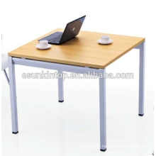 Negotiation table design for office peach wood + warm white finishing, Fashional office furniture for sale (JO-4053)
