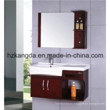 Gabinete de baño de madera maciza / vanidad de baño de madera maciza (KD-420)