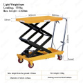 Hydraulic Scissor Lift Table Cart