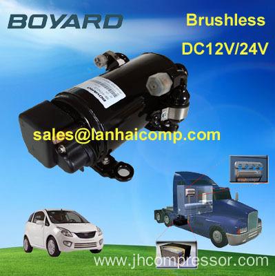 Boyard r134a high power dc air compressor in fridge for Air compressor for pool closing