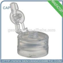 Tapa roscada plástica más nueva del casquillo de rosca del plástico de los casquillos