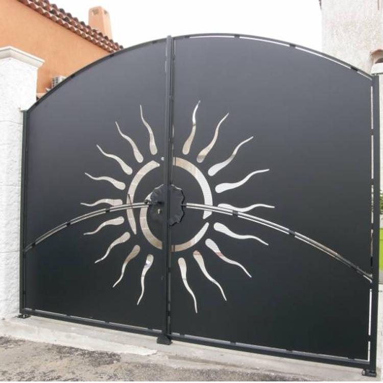 House Amp Gardern Main Steel Gate Designs China Manufacturer