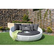 Elegantes, prächtiges Design Synthetisches Poly Rattan Sunbed oder Daybed Für Outdoor Garden Beach Pool Resort Wicker Möbel