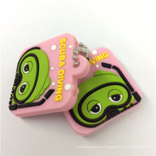 Customize Promotional Gifts Injection Silicone Key Ring