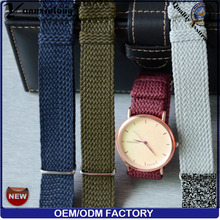 Yxl-169 Hottest Perlon Watch Strap Men Ladies Wrist Watch Band Perlon Band Watch Wristband OEM Factory Cheapest