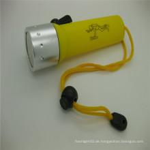 On-line-Geschäft scuba 200LM XPE LED wasserdichte Tauchen-Taschenlampen-Fackel 18650