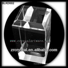 K9 Blank Crystal Block para grabado láser 3D BLKD002